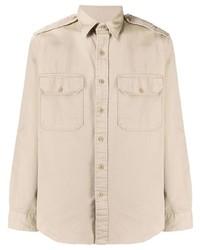 hellbeige Langarmhemd von Polo Ralph Lauren