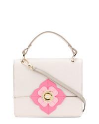 hellbeige Lederhandtasche von Furla
