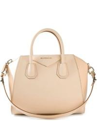 hellbeige Lederhandtasche von Givenchy