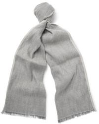 hellbeige Leinen Schal