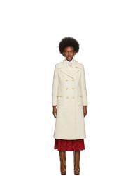 hellbeige Mantel von Gucci