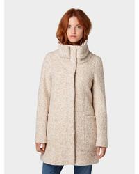 hellbeige Mantel von Tom Tailor Denim