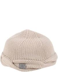 hellbeige Mütze