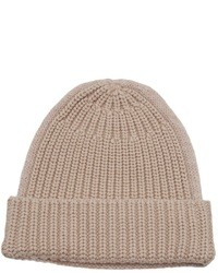 hellbeige Mütze von Carven
