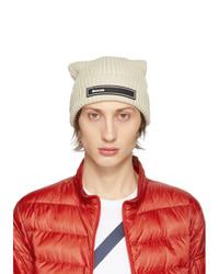 hellbeige Mütze von Moncler