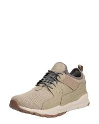 hellbeige niedrige Sneakers von Skechers