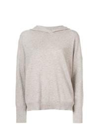 hellbeige Oversize Pullover von Le Kasha
