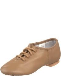 hellbeige Oxford Schuhe