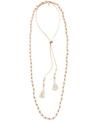 hellbeige Perlenkette von Chan Luu
