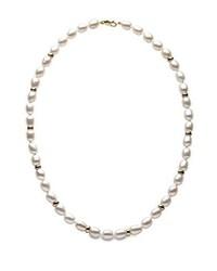 hellbeige Perlenkette von Kimura Pearls