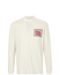 hellbeige Polo Pullover