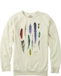 hellbeige Pullover mit einem Rundhalsausschnitt von Burton