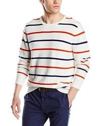 hellbeige Pullover mit einem Rundhalsausschnitt von Dockers