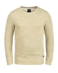 hellbeige Pullover mit einem Rundhalsausschnitt von Produkt