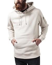 hellbeige Pullover mit einem Kapuze von Urban Classics