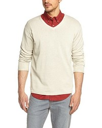 hellbeige Pullover von Eddie Bauer