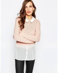 hellbeige Pullover von Lipsy