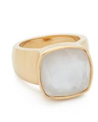 hellbeige Ring von Kate Spade