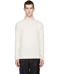 hellbeige Rollkragenpullover von Paul Smith
