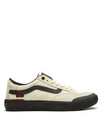 hellbeige Segeltuch niedrige Sneakers von Vans