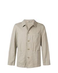 hellbeige Shirtjacke von Aspesi