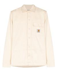 hellbeige Shirtjacke von Carhartt WIP