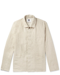 hellbeige Shirtjacke von Nn07