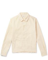 hellbeige Shirtjacke von YMC