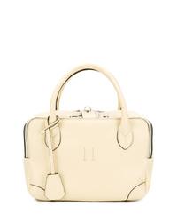 hellbeige Shopper Tasche aus Leder von Golden Goose Deluxe Brand