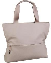 hellbeige Shopper Tasche aus Leder von Mandarina Duck