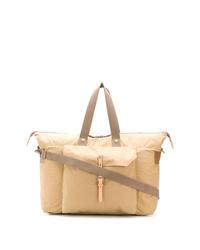 hellbeige Shopper Tasche aus Segeltuch von Ally Capellino