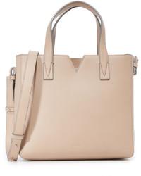 hellbeige Shopper Tasche von Vince