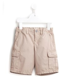 hellbeige Shorts von Armani Junior