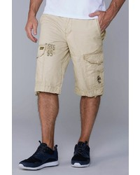 hellbeige Shorts von Camp David