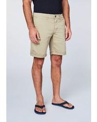 hellbeige Shorts von Chiemsee