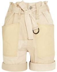 hellbeige Shorts von Isabel Marant