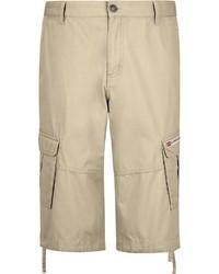 hellbeige Shorts von Jan Vanderstorm