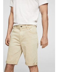 hellbeige Shorts von Mango Man