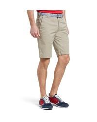 hellbeige Shorts von MEYER