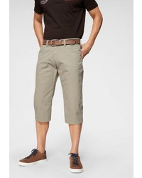 hellbeige Shorts von Pioneer Authentic Jeans