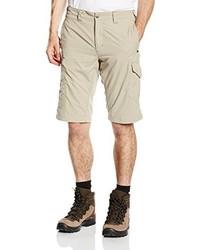 hellbeige Shorts von Salewa