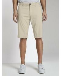 hellbeige Shorts von Tom Tailor