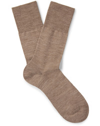 hellbeige Socken von Falke