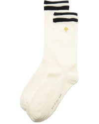 hellbeige Socken von Kate Spade