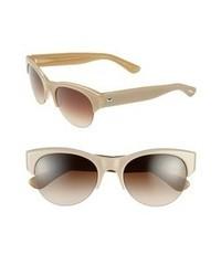 hellbeige Sonnenbrille