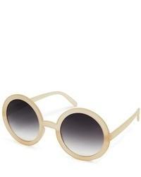 hellbeige Sonnenbrille von Asos