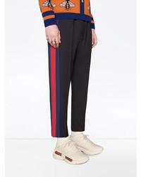 hellbeige Sportschuhe von Gucci
