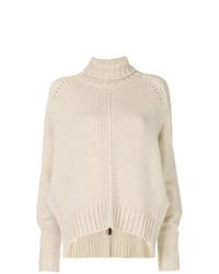 hellbeige Strick Oversize Pullover von Isabel Marant