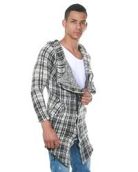 hellbeige Strick Pullover mit einem Kapuze von Fiyasko Fashion