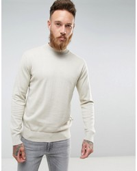 hellbeige Strick Rollkragenpullover von French Connection